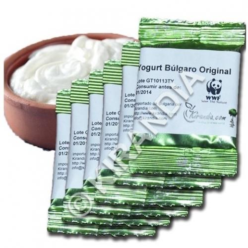 Fermentos para Yogur Búlgaro (6 Sobres)