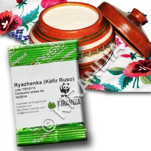 Fermentos para Kéfir Ruso (RYAZHENKA) (1 Sobre)