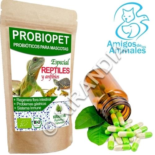 Probiopet Reptiles y Anfíbios (probióticos para mascotas)