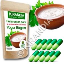 Fermentos Yogur Búlgaro (10 Cápsulas) - especial YOGURTERAS