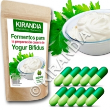 Fermentos Yogur Bífidus (10 Cápsulas) - especial YOGURTERAS