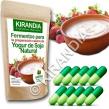 Fermentos Yogur de Soja Natural (10 Cápsulas) - especial YOGURTERAS