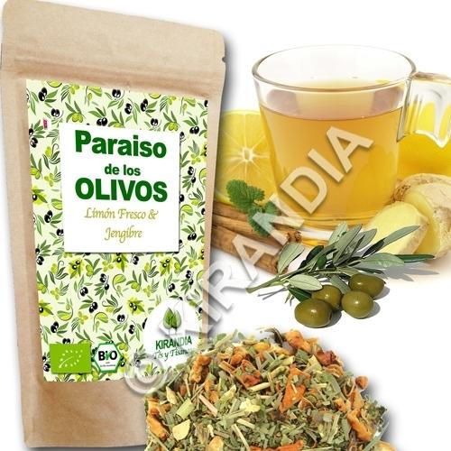 OLIVOS BIO Limón & Jengibre
