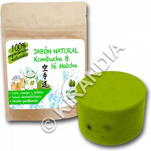 Jabón de Kombucha y té Matcha