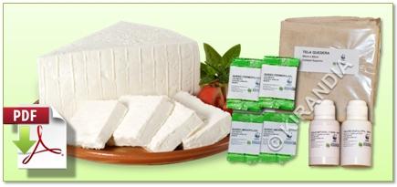Manual elaboración de queso artesanal